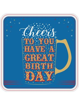 Tracks Cheers Great Birthday Card
