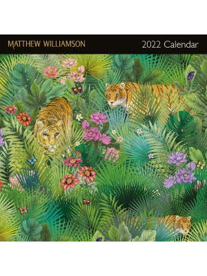 Matthew Williamson 2022 Square Calendar