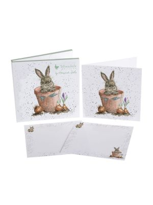 Wrendale Flower Pot Note Card Pack