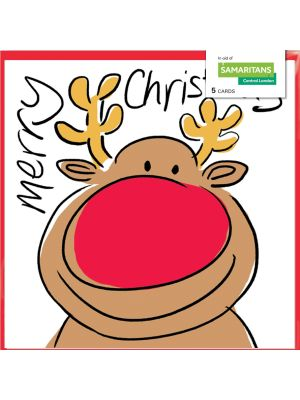 Lucilla Lavender Rudolph Charity Christmas Cards