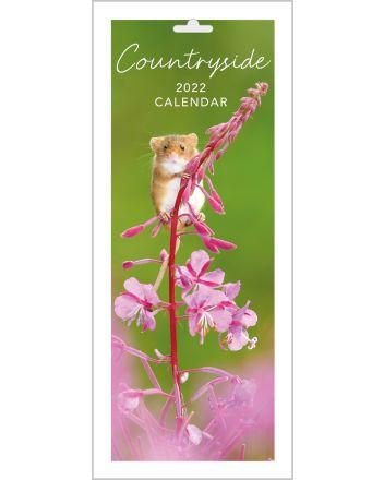 Abacus Countryside Slim Calendar 2022