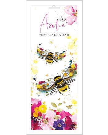 Abacus Azalea Craft Animals Slim Calendar 2022