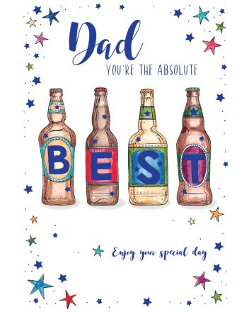 ICG Beers Fathers Day Card
