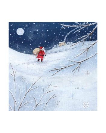 8 Museums and Galleries Father Christmas Cards