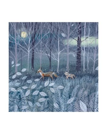 8 Museums and Galleries Fox and Cub Christmas Cards