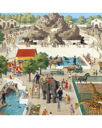 Museum and Galleries The Zoo Greeting Card