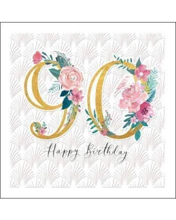 Woodmansterne Espoir 90th Birthday Card