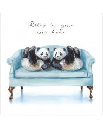 Woodmansterne Pandas New Home Card