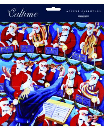 Woodmansterne Santa Claus Orchestra Advent Calendar