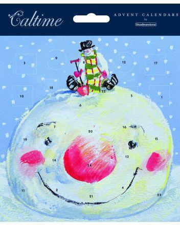 Woodmansterne Snowmen Advent Calendar