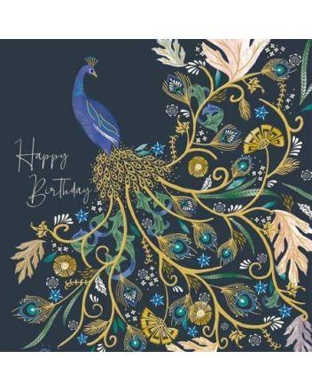Proud Peacock - National Trust Harmony Card