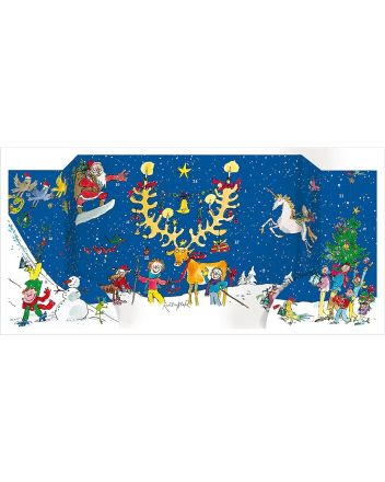 Quentin Blake Large Fold-Out Advent Calendar