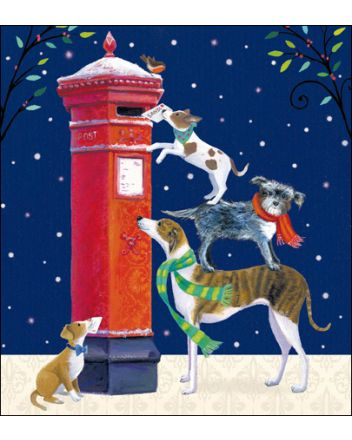 5 Dogs Letters to Santa Charity Christmas Cards