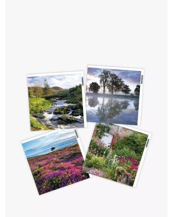 Woodmansterne Pack of 4 National Trust Greetings Cards