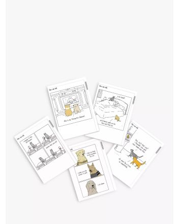 Woodmansterne Pack of 5 They Can Talk Greeting Cards