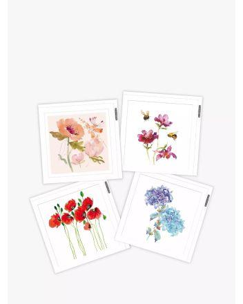 Woodmansterne Pack of 4 Millbank Greetings Cards