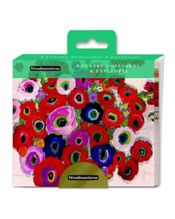 Woodmansterne Rose Bouquet Notelets