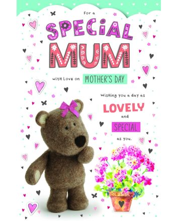 ICG Barley Bear Special Mum Mothers Day Card