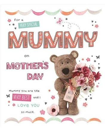 ICG Barley Bear Very Special Mummy Mothers Day Card