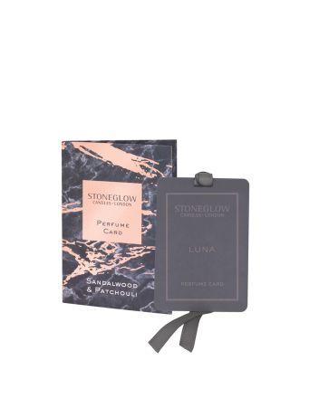 Stoneglow Sandalwood Perfume Card
