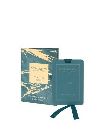 Stoneglow Papyrus and Jasmine Perfume Card