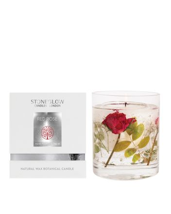 Stoneglow Red Rose Gel Candle