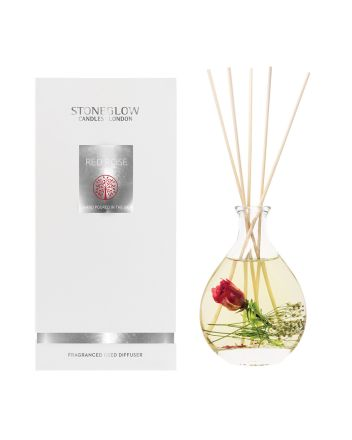 Stoneglow Red Rose Reed Diffuser