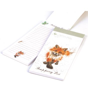 The Country Set - Fox Shopping List Pad