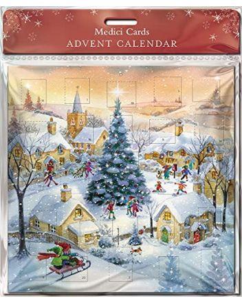 GBCC Snowy Village Advent Calendar