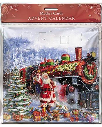 GBCC Santa Express Train Advent Calendar