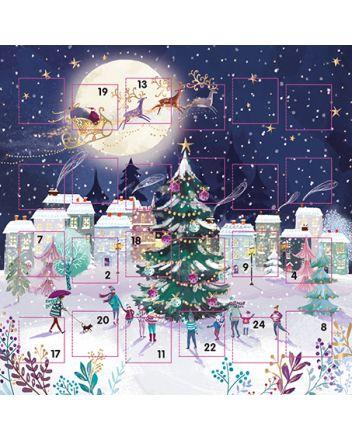 Ling Christmas Town Advent Calendar Card