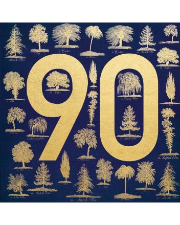 Museums and Galleries Trees 90th Birthday Card