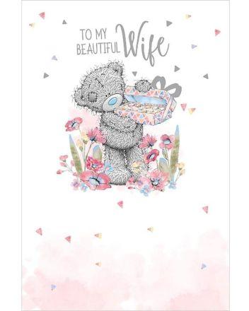 Me To You Beautiful Wife Birthday Card