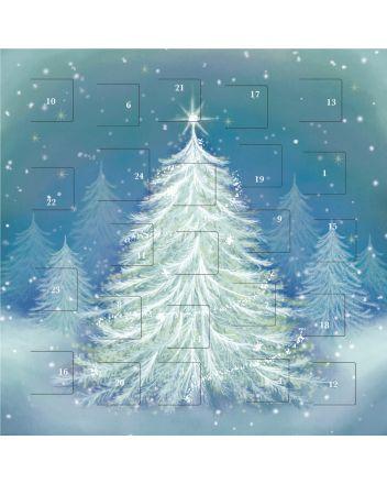 Art File Wintery Christmas Trees Advent Calendar
