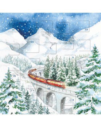Art File Train Advent Calendar