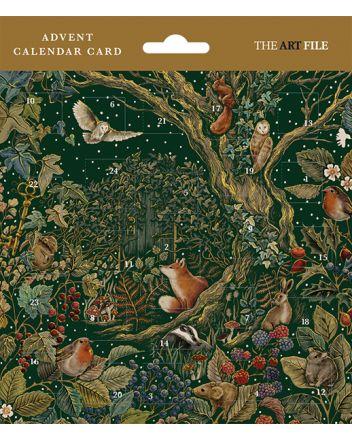 Art File The Secret Garden Advent Calendar