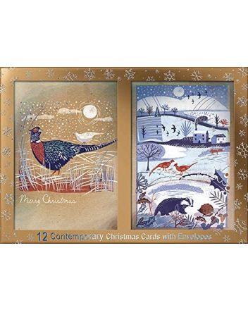 Almanac Pheasant Boxed Christmas Cards