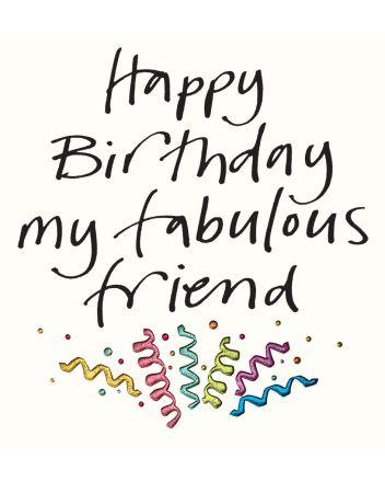 Lucilla Lavender Fabulous Friend Birthday Card