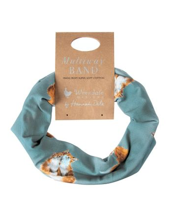 Wrendale Fox Born To be Wild Multi-Way Band