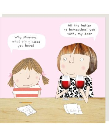Rosie Made a Thing Home School Greeting Card