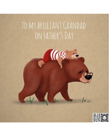 BES Bears Brilliant Grandad Fathers Day Card