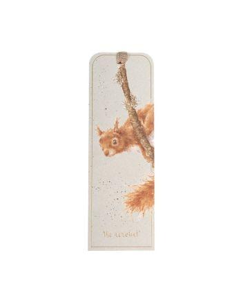 The Acrobat - Red Squirrel Bookmark