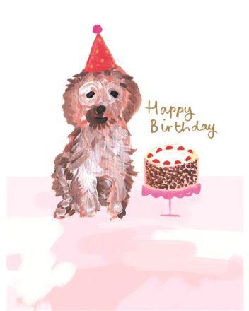 Paper Salad Bella and Max Dog Birthday Card