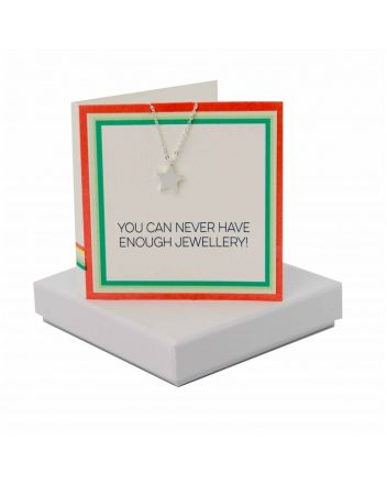 Coral and Mint Never Enough Jewellery Star Necklace