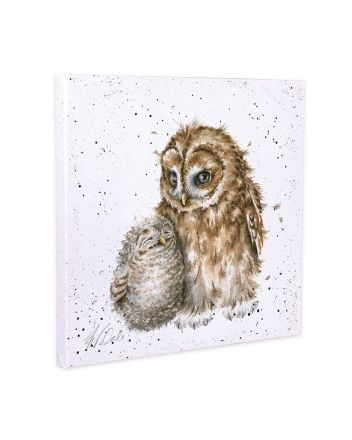 Wrendale Owls Small Canvas