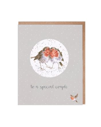 Wrendale Special Couple Christmas Decoration Card