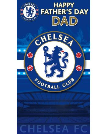 Chelsea Football Club Fathers Day Card