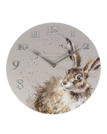 The Country Set - Hare Wall Clock