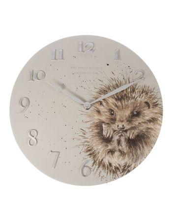 The Country Set - Hedgehog Wall Clock