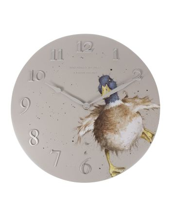 The Country Set - Duck Wall Clock